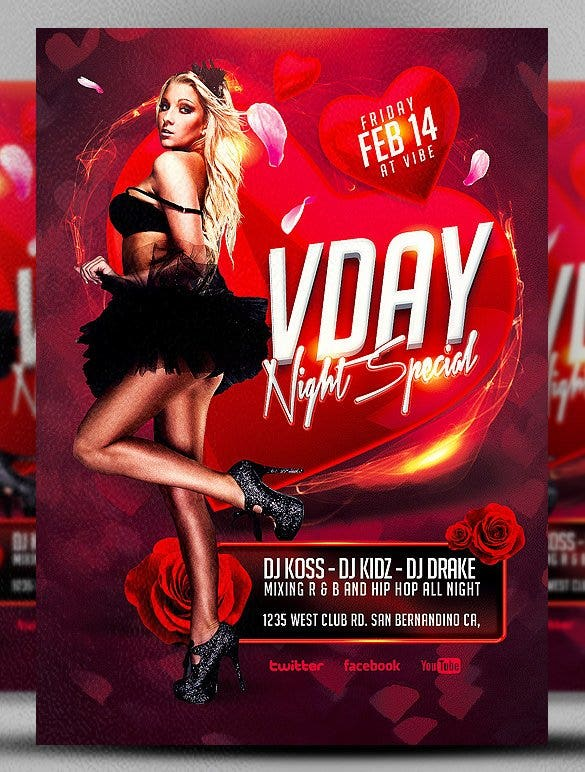 vday night special flyer template psd download11