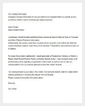 Example Complaint Letter About Electronics1