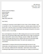 Free Sample Business Complaint Letter