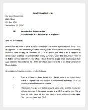 Sample Environment Complaint Letter