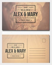 -Postcard-Template-of-Photoshop-Wedding-Invitation