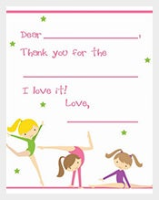 3 Dolls Of Blank Postcard Template