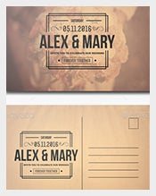 Postcard-Template-of-Photoshop-Wedding-Invitation