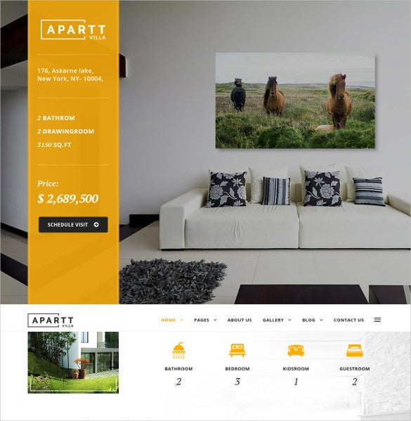 apartt villa single property real estate wordpress theme