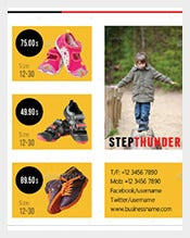 Postcard-Template-for-Kids-Shoes-