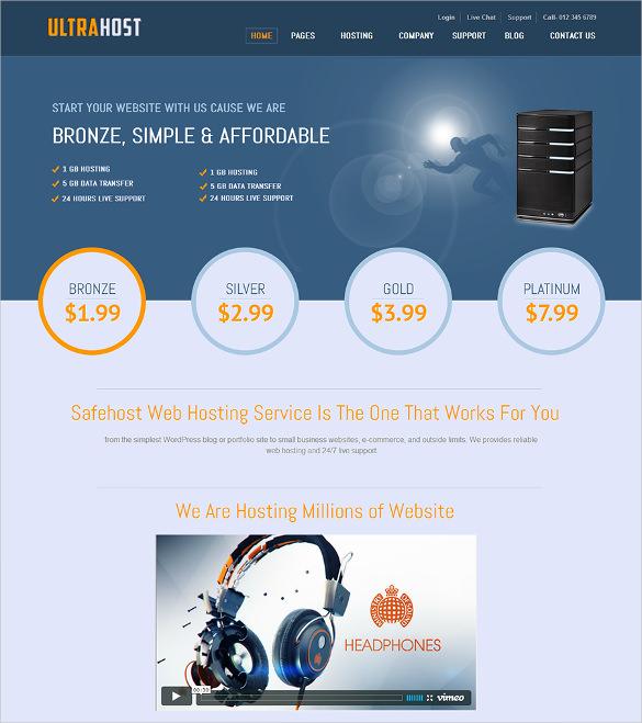 17+ Hosting Joomla Themes & Templates | Free & Premium Templates