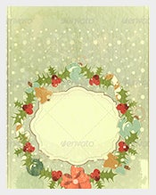 Old--Postcard-template-for-Christmas