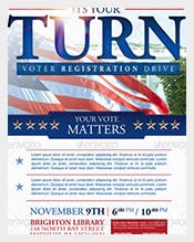 Voter-Registration-Political-Postcard-Templates