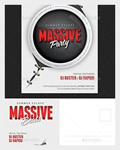 Massive-Party-Event-Postcard-Template-Download