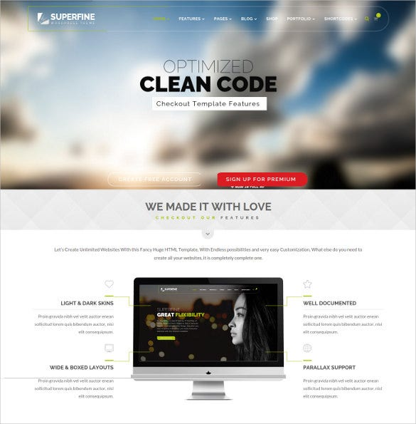 superfine multipurpose wordpress theme