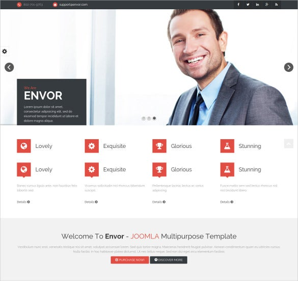 fully multipurpose hosting joomla html 5 template