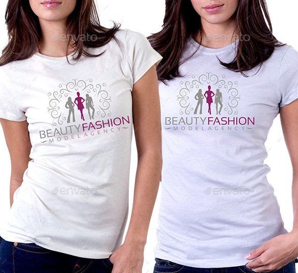 beauty fashion logo vector eps