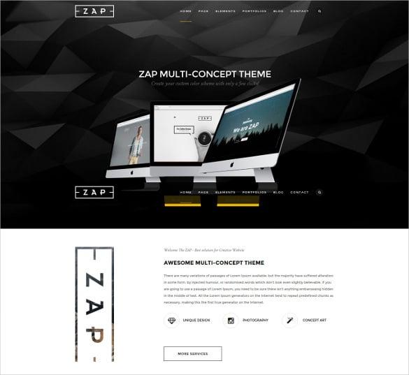 zap responsive multi purpose joomla template