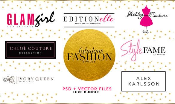 awesome fashion logos