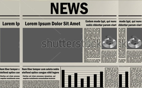 newspaper headline example template download