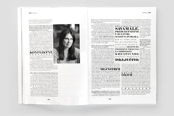 sample newspaper headline psd template download