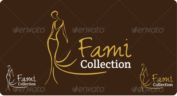fashion and cloth logo template