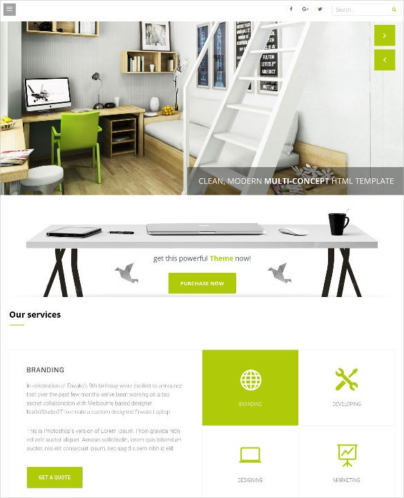 wisey vertical navigation wordpress html5 theme