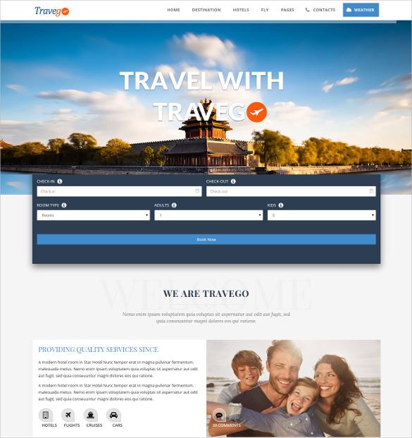 travego travel html5 theme responsive