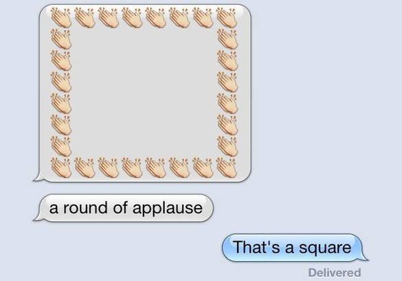 funny eemoji round applause1