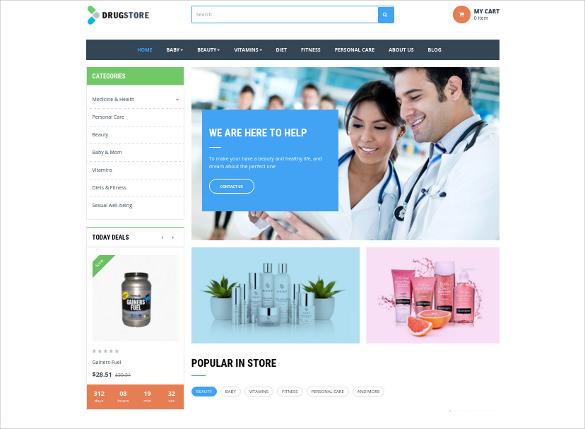 ap drug store prestashop html5 theme