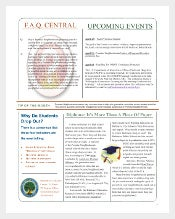 Department of EducationNewsletter Template