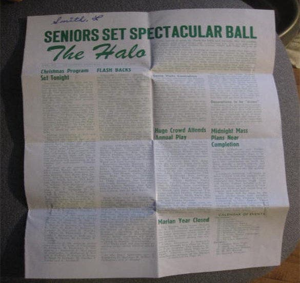 halo school newspaper example template download