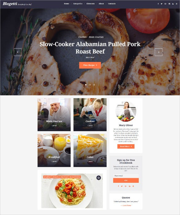 blogetti wordpress blog theme
