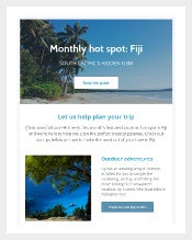 Free HTML Newsletter Template Download