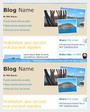 HTML Marketing Newsletter Template