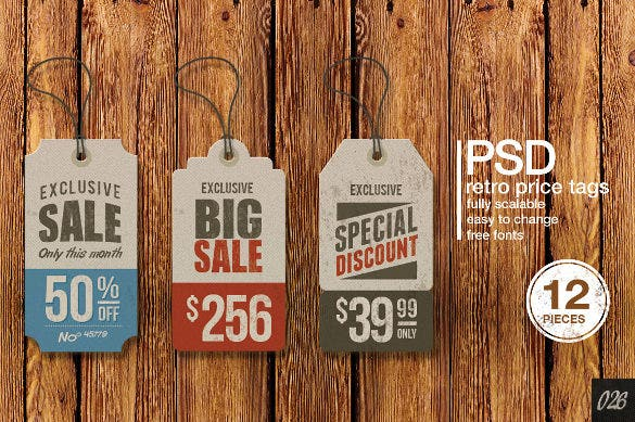 Price Tag Templates  Free Sample Example Format Download