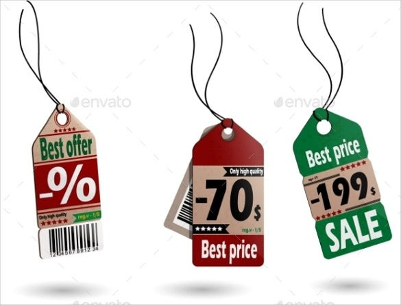 best price tag vector eps format