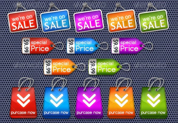 premium price tag template download