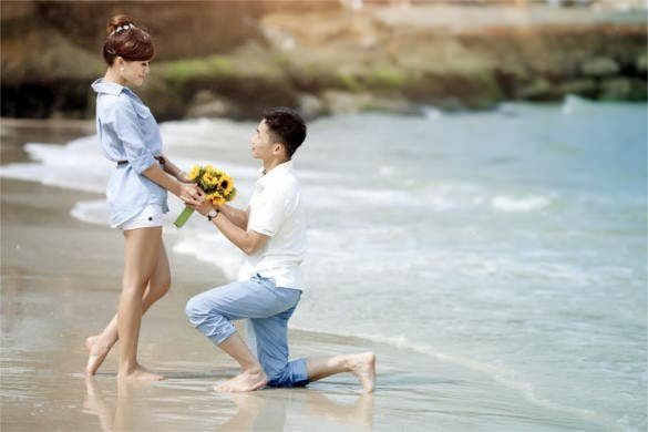 love is everywhere proposing