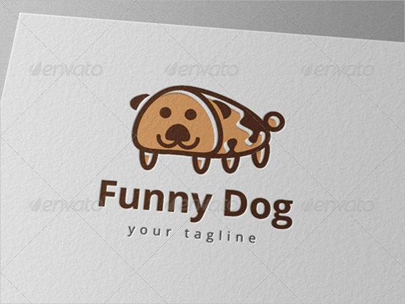 funny dog logo download