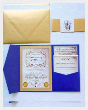 Wedding Invitation - Pocket Folder