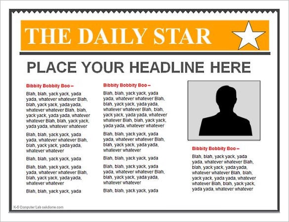 14  powerpoint newspaper templates