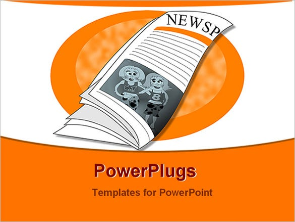 sample powerpoint presentation school newspaper free download