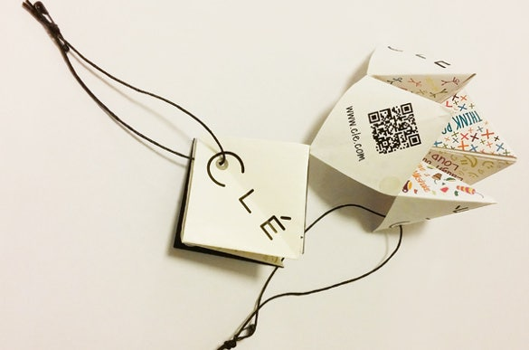 paper fortune hang tag design
