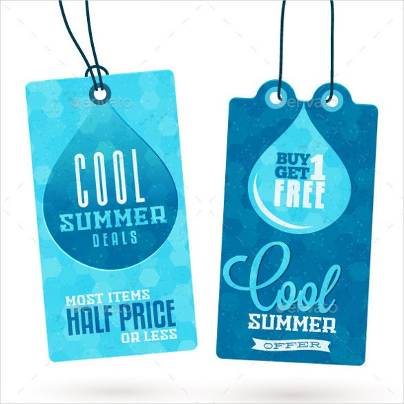 vector eps format hang tags template1