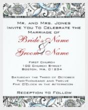 Special Occassion Wedding Invitation