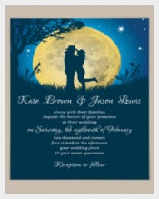 Cowboy Wedding Invitation