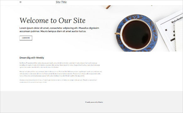 free online publication weebly template