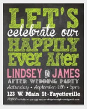 Wedding Party Invitation Custom Printable