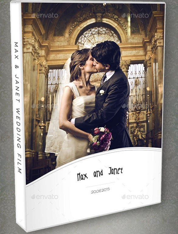 download wedding dvd blu ray cover template