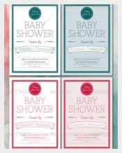 La Grolla Baby Shower Card