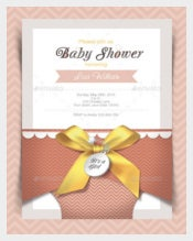 Print Baby Shower Invitation Card
