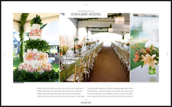 psd template for wedding event planners download