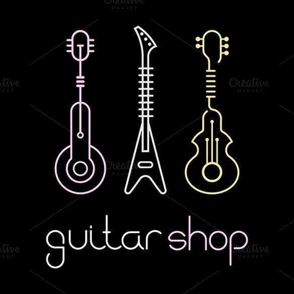 variants guitar logo download