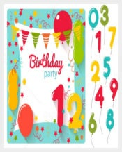 Free Birthday Party Invitation